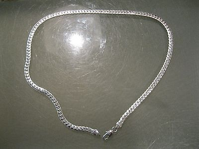 Купить sterling silver - 5MM 925 Sterling Silver Necklace Chain 20 inch Fashion Men Women