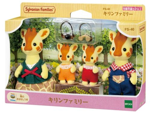Sylvanian Families GIRAFFE FAMILY Calico Critters FS-40 Japan New