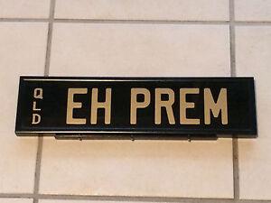 EH PREMIER HOLDEN PRESTIGE PLATES Shailer Park Logan Area Preview