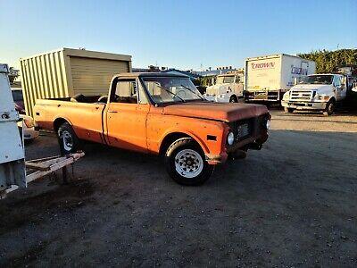 1971 Chevrolet Other Pickups Cheyenne Super 1971 Chevrolet 20 Cheyenne Super Hugger Orange Pickup Truck