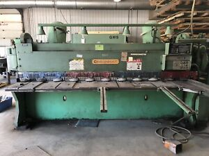 Cincinnati 2CC10 Mechanical Sheet Metal Power Shear