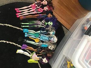 Monster High Dolls Beresfield Newcastle Area Preview