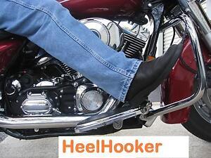 Motorcycle Floorboard,HEEL-HOOKER,  Harley or Metric, Foot Rest, Highway Pegs