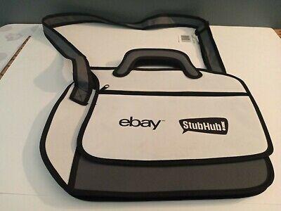 3D Ebay Stubhub Bag Black/Grey/White Laptop Bag