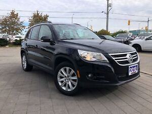 2010 Volkswagen Tiguan HIGHLINE LOW KMS!!**PAN ROOF**HEATED SEAT