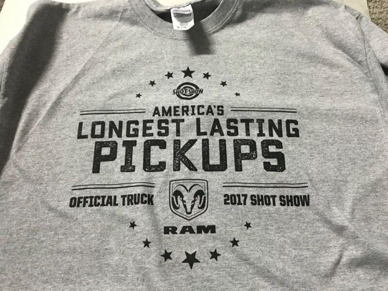 Shot Show 2017 Dodge Ram Trucks Logo T Shirt New XL