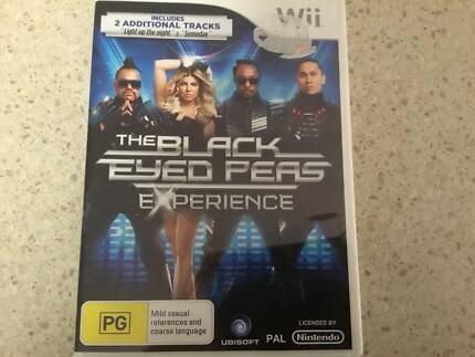 Wii The Black Eyed Peas Experience