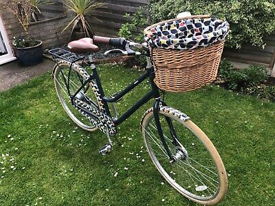 Ladies Orla Kiely Olive & Orange Bike