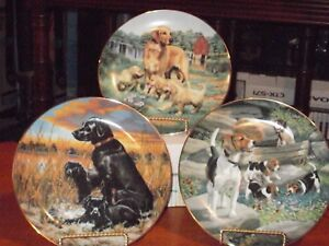 Classic Sporting Dogs plates serie