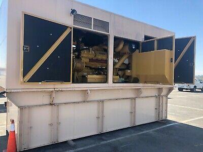 2004 Cat Caterpillar 3412 600kw 750kva Diesel Gen Set Generator 90 Hours
