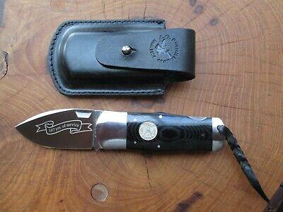 "A G Russell Knife 2010 Texas Rangers Sunfish Lockback Knife ""the fat boy"""