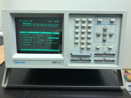1988 era Tektronix 1230 Logic Analyzer - WORKING