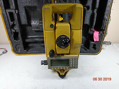 Topcon Gts-701 3 Surveying Total Station With Carrying Case K12