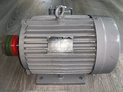 Pre-owned Fuji Electric 3 Phase Induction Motor Mla6107a