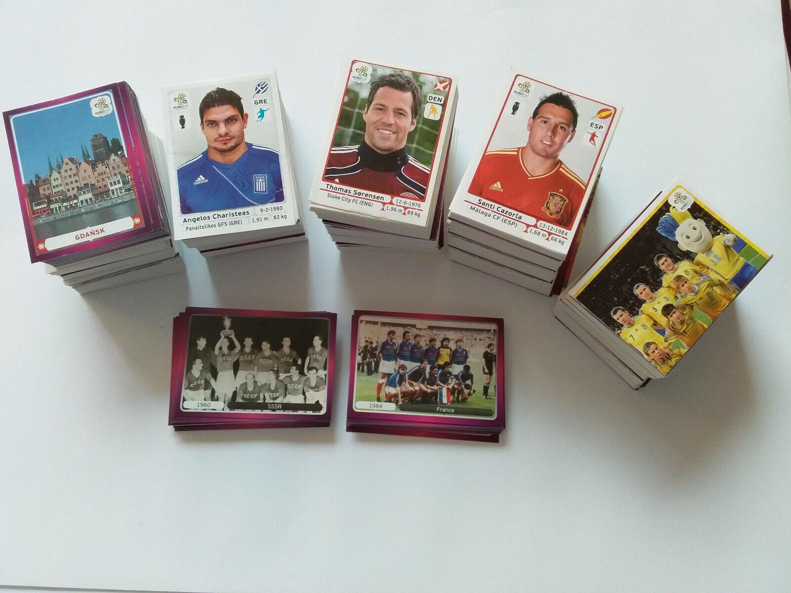 Panini euro 2012 pologne ukraine lot 20 30 50 80 images stickers au choix
