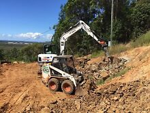 Bob cat $90 Site clean ups rubbish removal top soil spreading delivery Kiels Mountain Maroochydore Area Preview