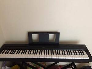 Yamaha P45 piano for sale with the piano stand and stool Strathfield Strathfield Area Preview
