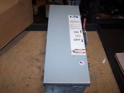 New Eaton 225 Amp Circuit Breaker Enclosure 600 Vac Type 3r Rfdn225