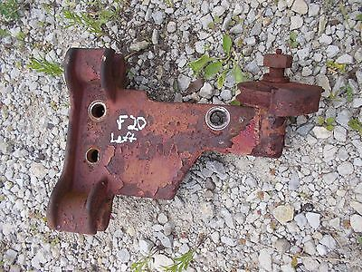 Mccormick Farmall F20 Tractor Front Lf Implement Mounting Bracket Brake Pulley