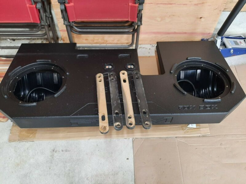 "fox acoustics ram 1500 Fox Box 2009-2018 Ported dual 12"" Dodge Ram Crew Cab"