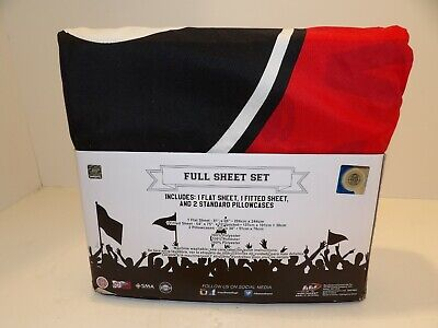 Georgia Bulldogs Full Size Sheet Set Microfiber 1 Fitted, 1 Flat, 2 Pillowcases -