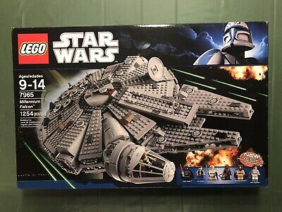 Star Wars LEGO 7965 MILLENNIUM FALCON New In Sealed Box STARTING .99 NO RESERVE