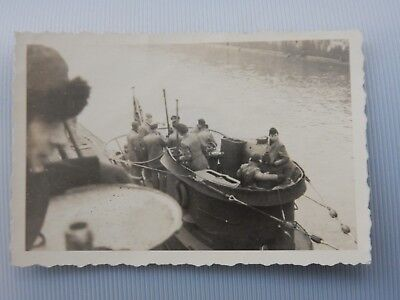 GERMAN U BOAT IN HARBOUR  - PRIVATE PHOTO for sale  Skipton