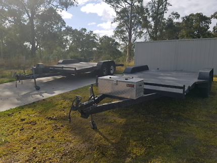 Cheap car trailer hire from $50