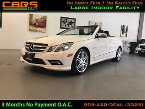 2012 Mercedes-Benz E-Class E350|Soft Top Conv | AMG Package| Key