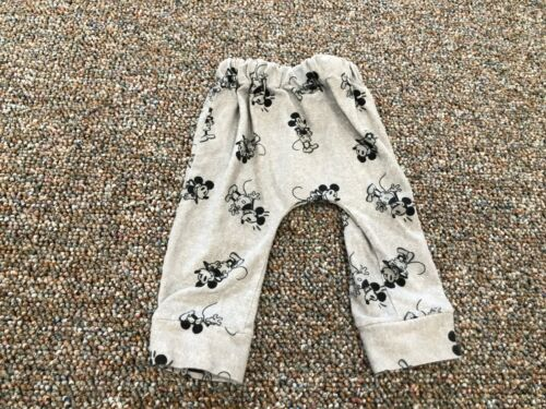 Mickey Mouse Gray Boys Pants 6-9M