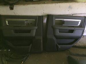 09-2016 Dodge Ram rear door panels