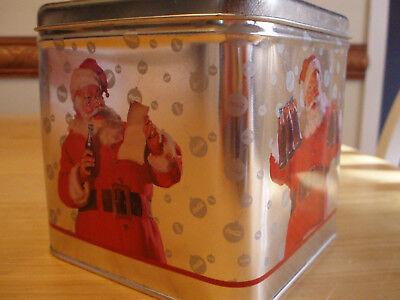Coca-Cola - Santa Claus Cookie Tin