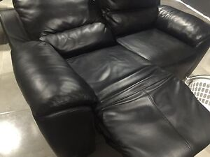 Electric high quality leather double recliner Coomera Gold Coast North Preview