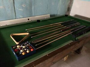 Selling great shape pool table