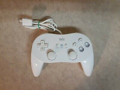 Genuine Nintendo Wii Classic Pro Controller RVL-005 (02) Official OEM
