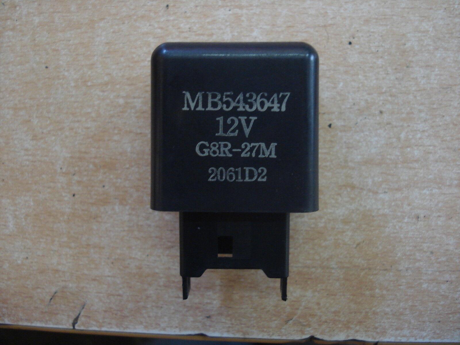 MITSUBISHI GTO TWIN TURBO NONE TURBO RELAY MB510925 INTERMITTENT WIPER RELAY