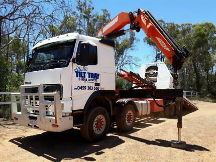 Tilt tray and Hiab services