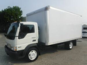 2009 International CF500 Cube Van 16 Foot Diesel