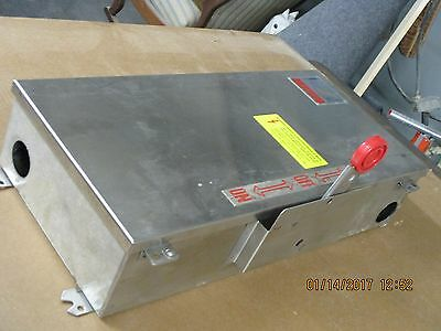 Cutler Hammer Stainless Dh363uwk 100 Amp Manual Transfer Switch