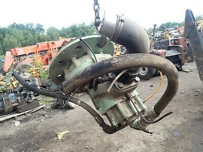 Sullair 185 Cfm Air Compressor End Airend End Pump Working Takeoff Deere
