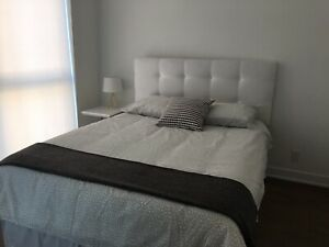 Fully Furnished 2 Bedroom Condo in Queen West