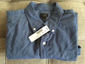 J Crew Vintage Oxford Shirt. Never worn.