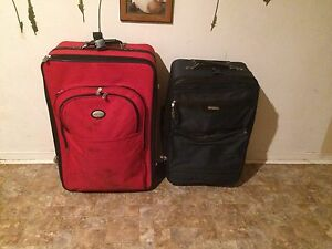 2 suitcases forsale