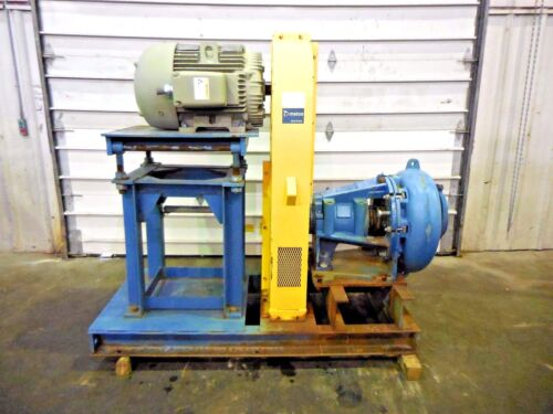 "RX-3616, METSO MM200 LHC-D 8"" x 6"" SLURRY PUMP W/ 75HP MOTOR AND FRAME"