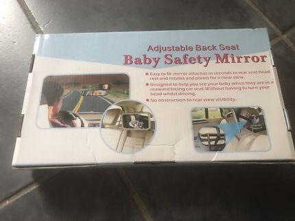 Baby car safety mirror