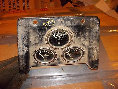 International 303 Combine Farmall Tractor Ih Dash Panel Ihc Ih Gauge Gauges