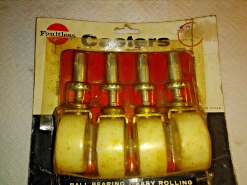 Faultless Casters 4 piece-1 5/8 wheeles