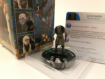 Grishnakh - LOTR The Two Towers HeroClix - #16 - Uncommon