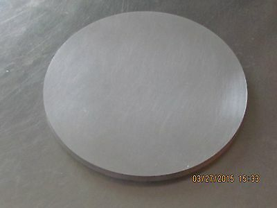 5  Aluminum Disk  14 Thick 6061 1 Pc  Wsc
