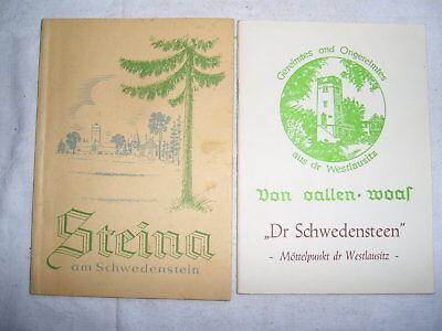 2 Heimathefte , Steina - Schwedenstein